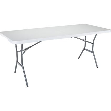 Lifetime Folding Table Blow Mould 183cm Supercheap Auto With