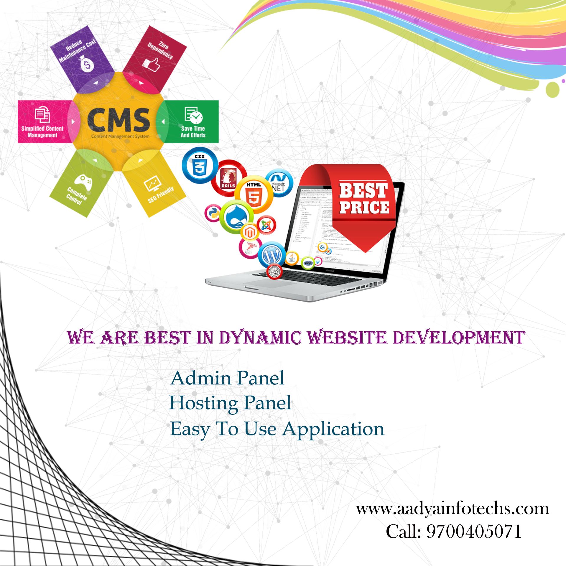 Best Web Designing Company In Hyderabad Aadyainfotechs Custom Web Design Web Design App Development Companies