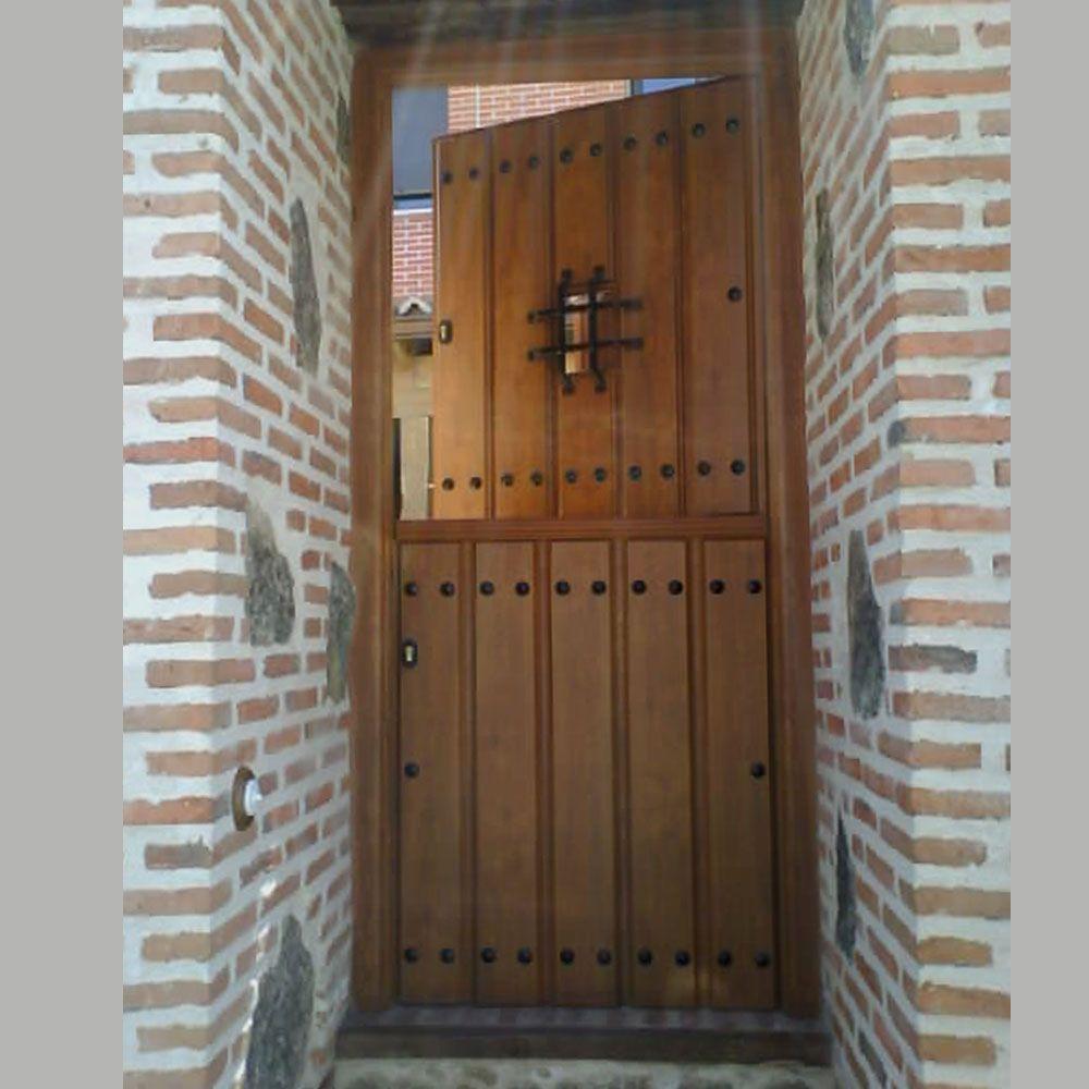 Puertas rusticas ancar caraldiaz pinteres - Puertas de madera decoradas ...