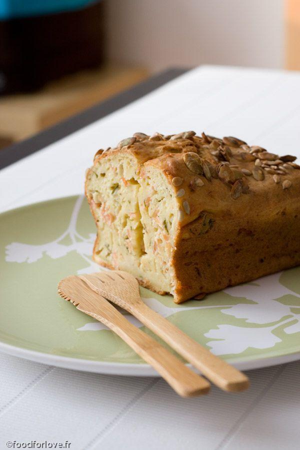 Photo Cake au Saumon Fumé, Estragon et Fromage Frais