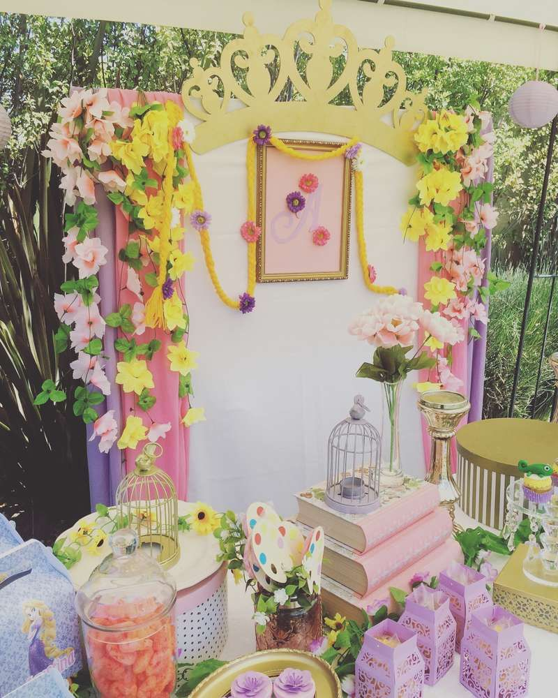 Rapunzel / Tangled Birthday Party Ideas Tangled party
