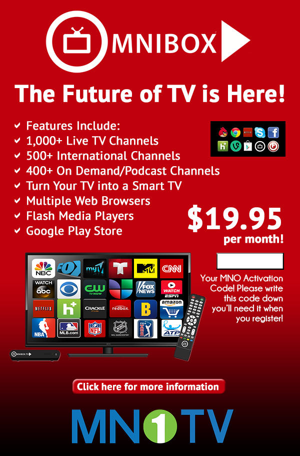 Get rid of your old Cable TV... NO CONTRACTS NO CREDIT