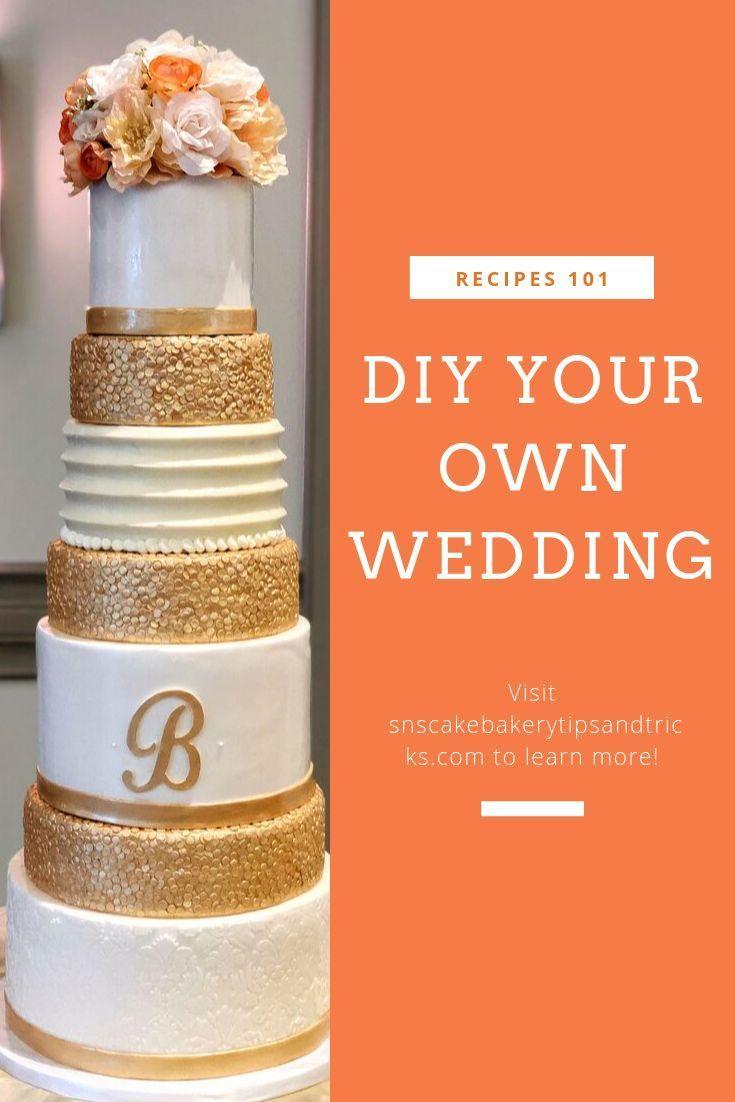 Diy your own wedding cake homemade wedding cake make