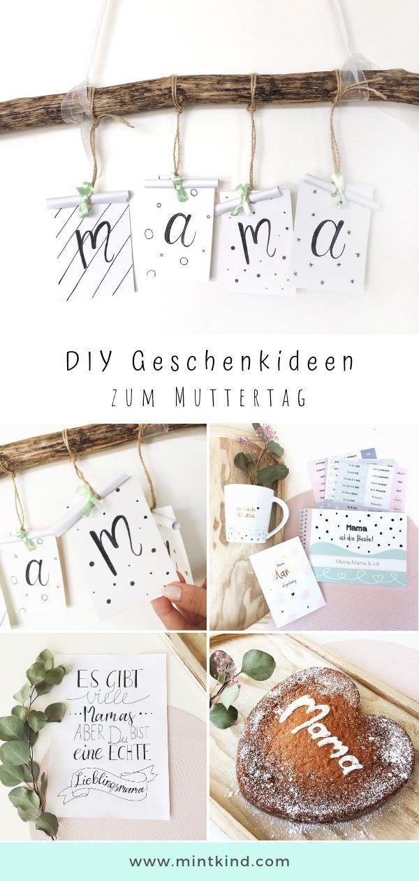 Geschenkideen Zum Mutter Vatertag Mintkind Blog Diy
