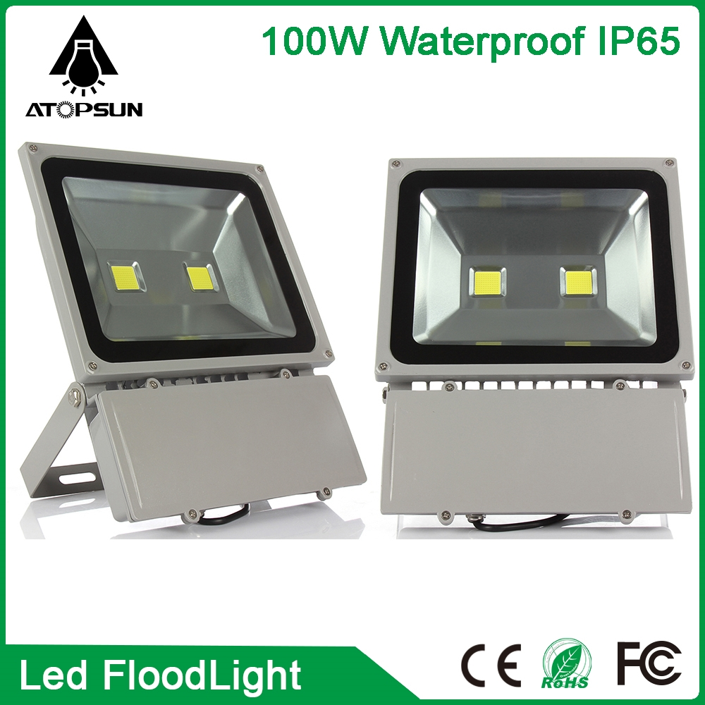 103.19$  Watch now - http://aliks9.worldwells.pw/go.php?t=32724330651 - 2pcs Outdoor lighting Waterproof LED Flood Light 100W led Reflector Floodlight Spotlight Outdoor Wall Lamp Garden Projectors