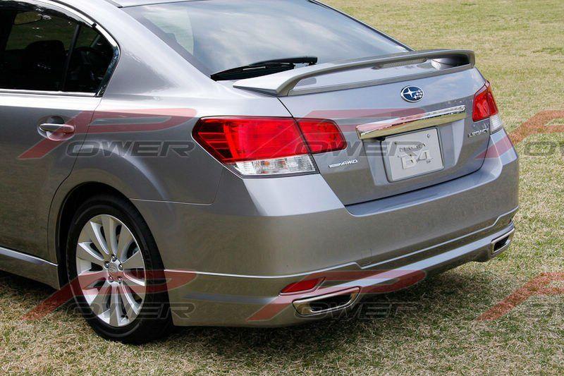 2010 subaru legacy rear wiper and spoiler Subaru legacy