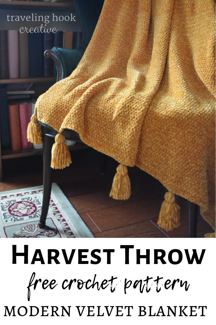 Harvest Throw: The Easy Adaptable Luxury Blanket
