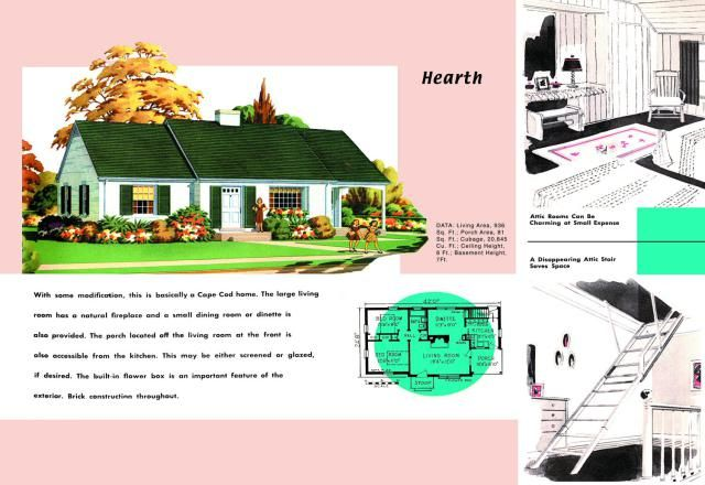 Cape Cod House Plans Sold to Mid Century Americans Bungalow