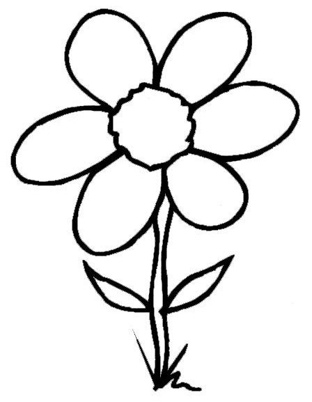 Spring Flowers Coloring Sheets Spring Day Cartoon Coloring Pages