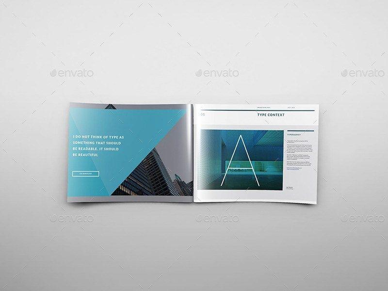 A4+Landscape+Brochure+Mockups Print Mock-ups Pinterest - gate fold brochure mockup