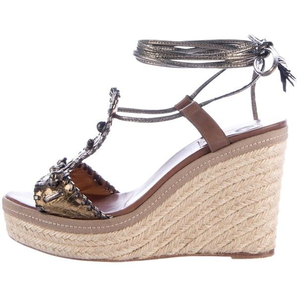 Pre-owned - Leather sandals Lanvin How Much Cheap Online For Cheap Online Online Shopping nhCHi