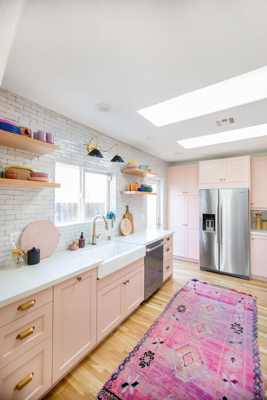 Pink Kitchens Are The Next Big Interior Design Trend In 2020 Home Decor Home Decor Kitchen Pink Kitchen,Wooden Door Design For Home India
