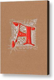 letter A Drawing by Kristine Jansone - letter A Fine Art Prints and Posters for Sale