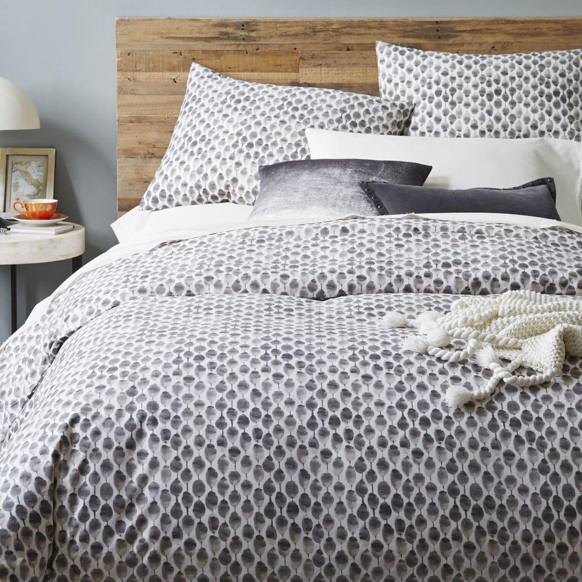 Ombre Velvet Cushion Cover - Slate. Cushion and bedlinen