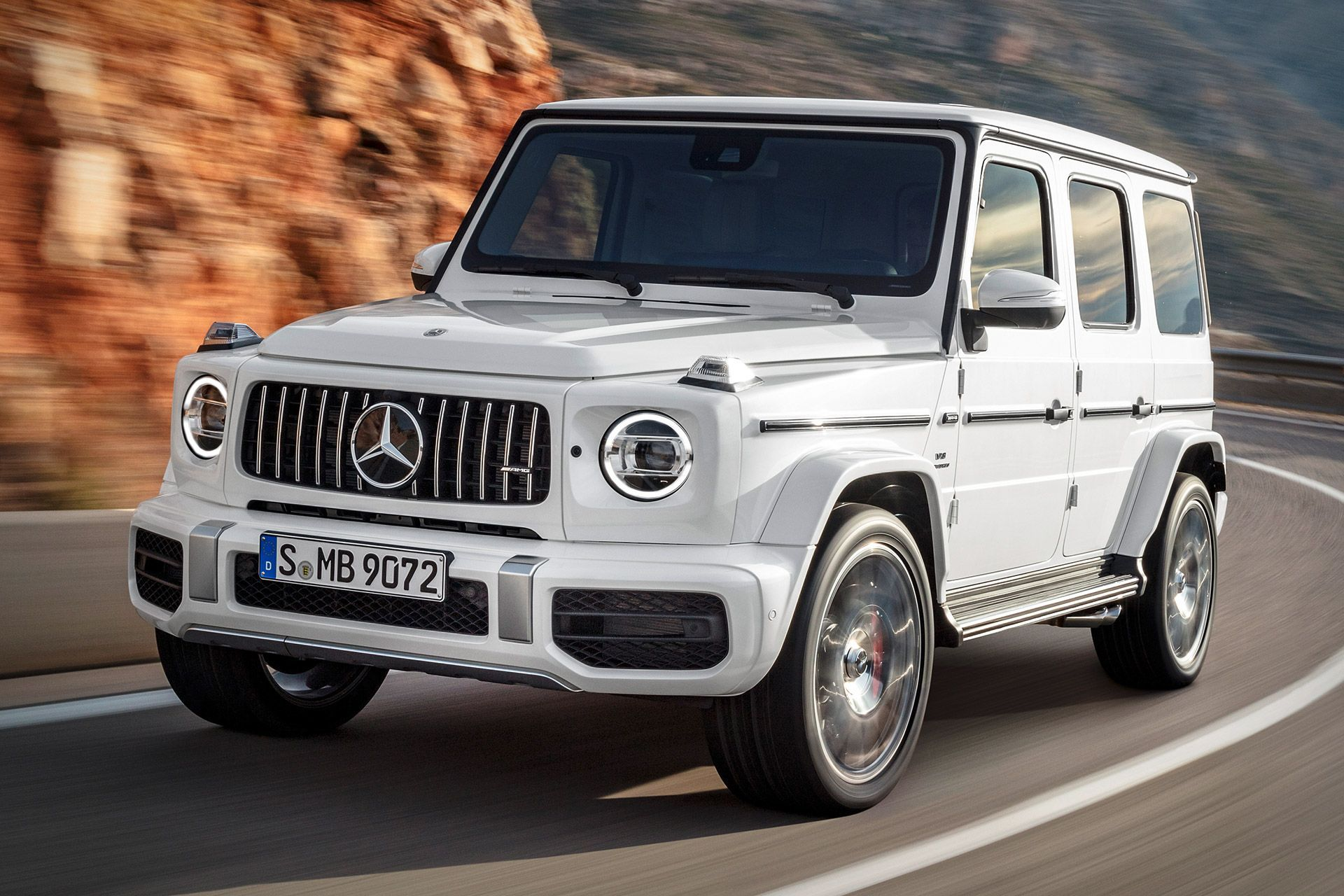 2019 Mercedes Amg G63 Suv With Images Mercedes G Wagon