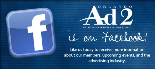 """Ad 2 Orlando is on Facebook! """"LIKE"""" Our page today!"""