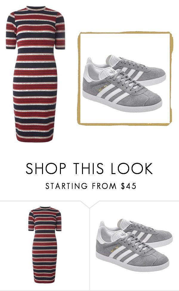 """Untitled #3"" by beunique6252 ❤ liked on Polyvore featuring Dorothy Perkins and adidas Originals"