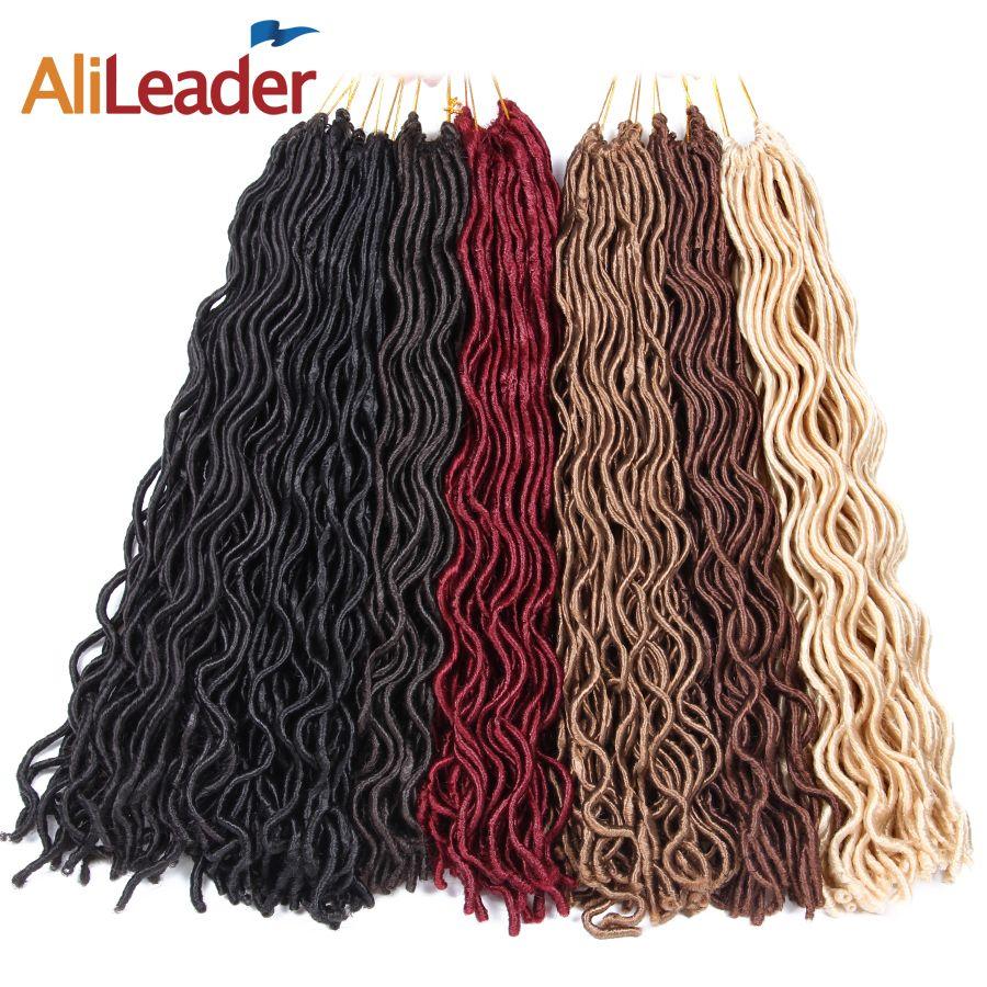 Alileader faux locs curly crochet hair
