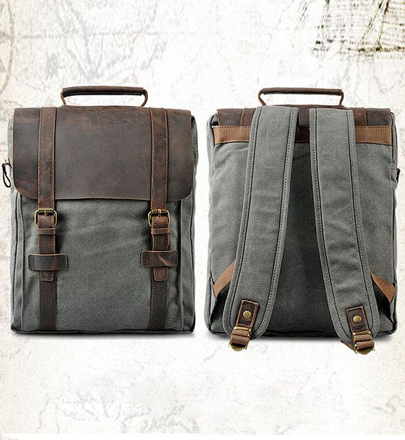 New backpack / Briefcase / Backpack / Messenger by CrazyLeatherBag, $59.00