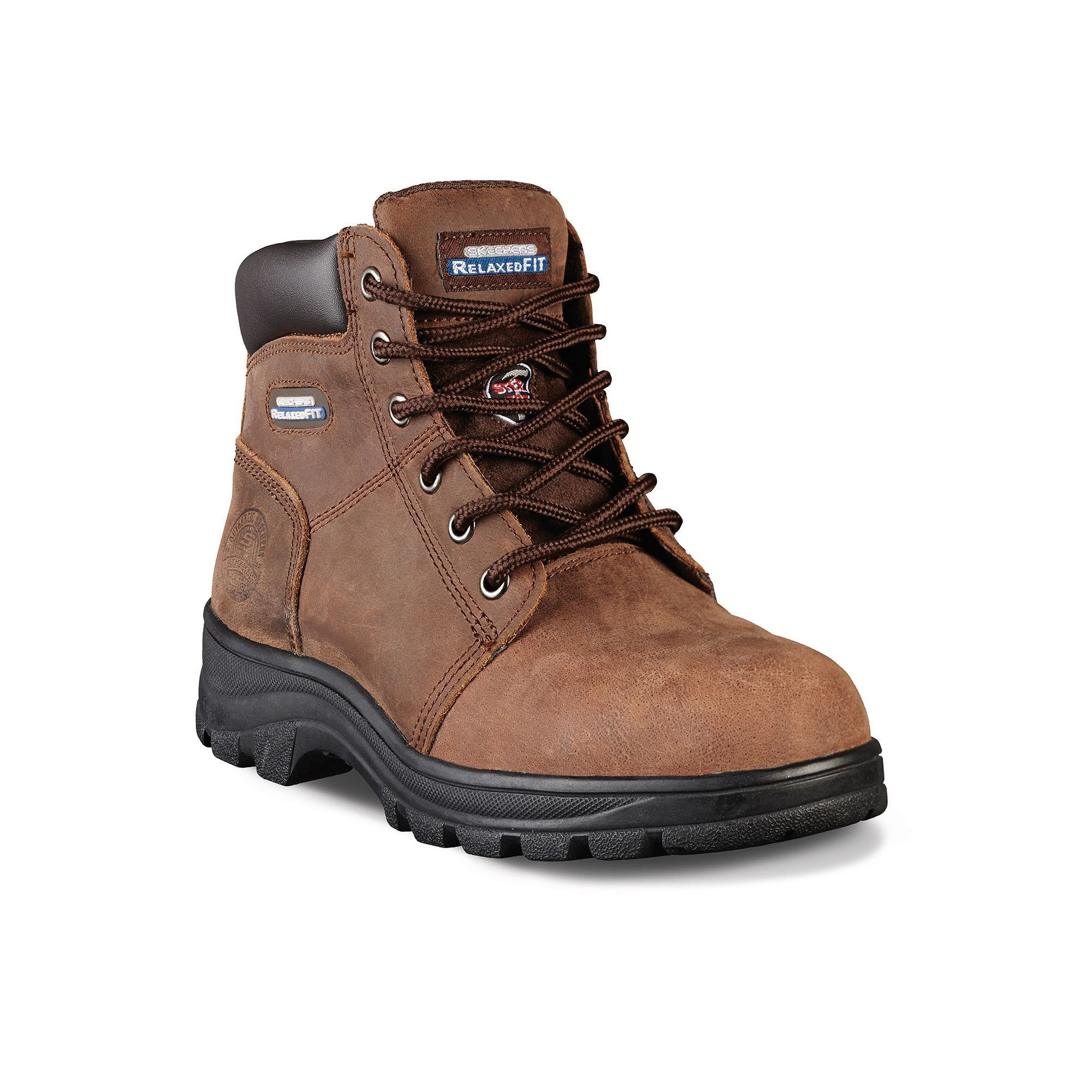 Skechers Relaxed Fit Workshire ... Peril Women's Steel-Toe Work Boots a4kRsJF