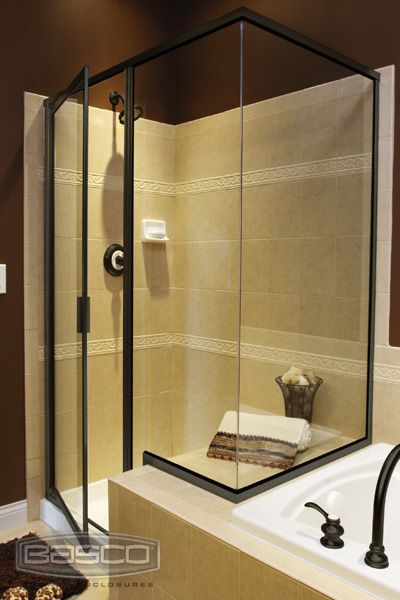 Beau We Use Basco Shower Enclosures Just Like This One To Create Beautiful  Bathrooms And Showers.