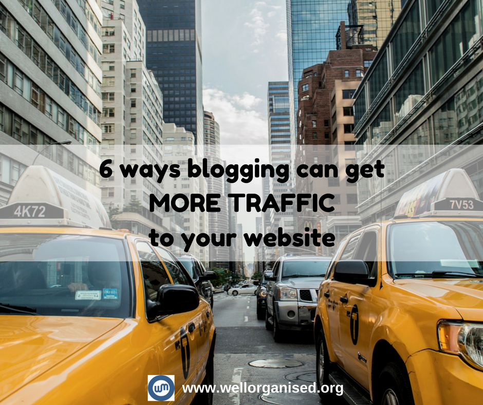 Just because your website is finished doesn't mean you're done. You need web traffic. Here's how you can get more traffic to your website through blogging.