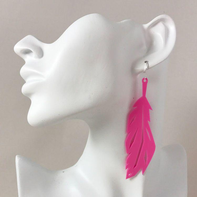 Feather Korvakorut Pinkki - kolme kokoa | Coruu