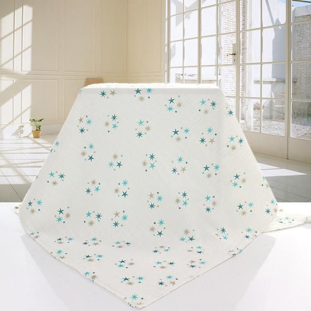 Oganic cotton Muslin Swaddle similar to modern burlap blanket infant ...