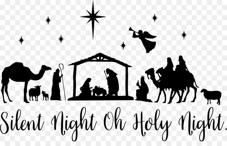Free Free Nativity Silhouette Patterns, Download Free Clip ...