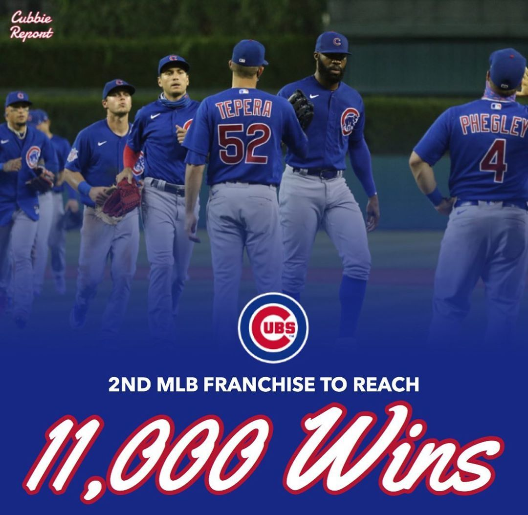 Chicago Cubs Fan Page S Instagram Post The Chicago Cubs Are The 2nd Team In Mlb History To Reach 11 000 Wins Cubs In 2020 Chicago Cubs Fans Chicago Cubs Cubs Fan