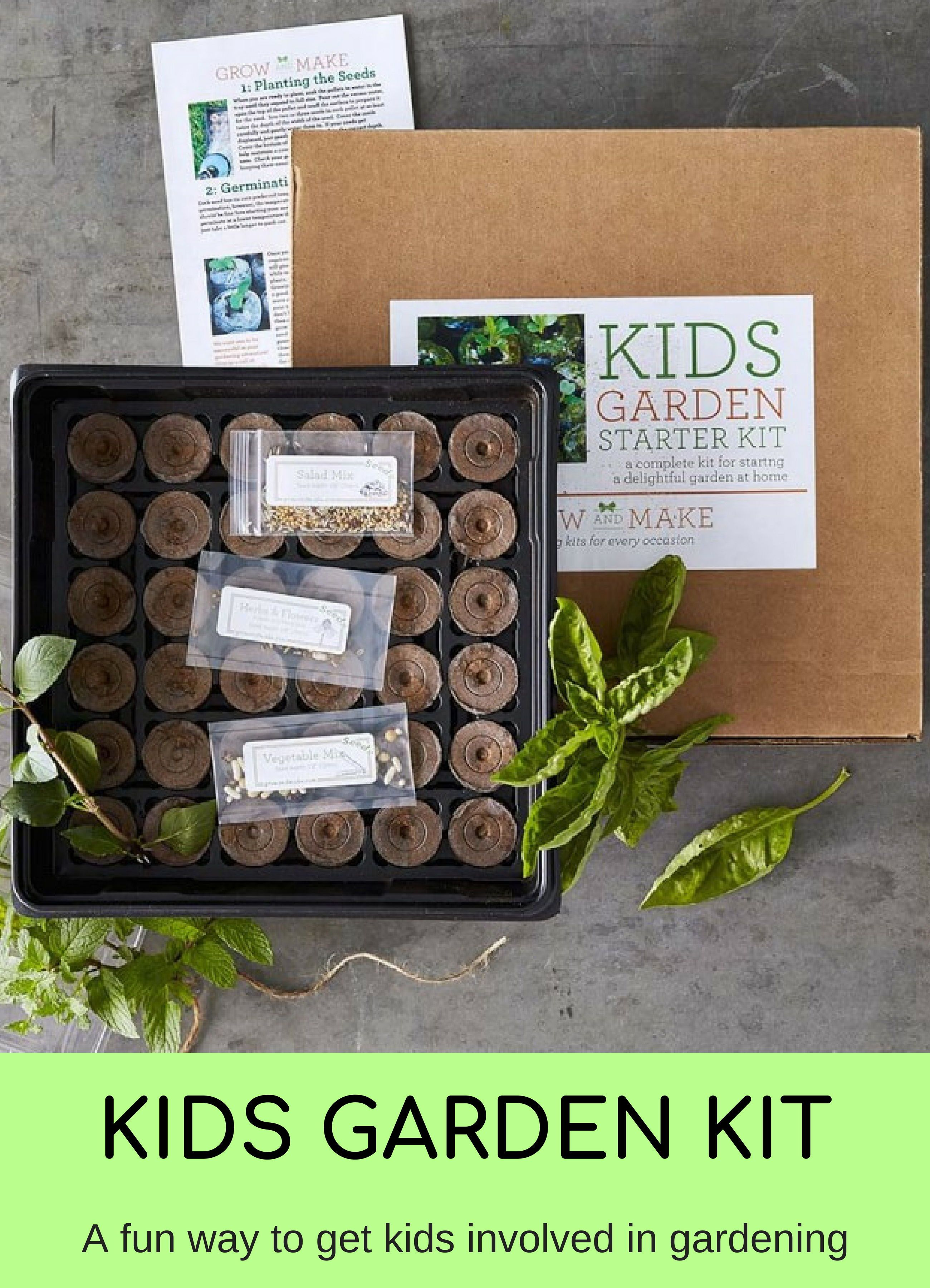 Our Kids Garden Kit Provides Everything You Need To Teach