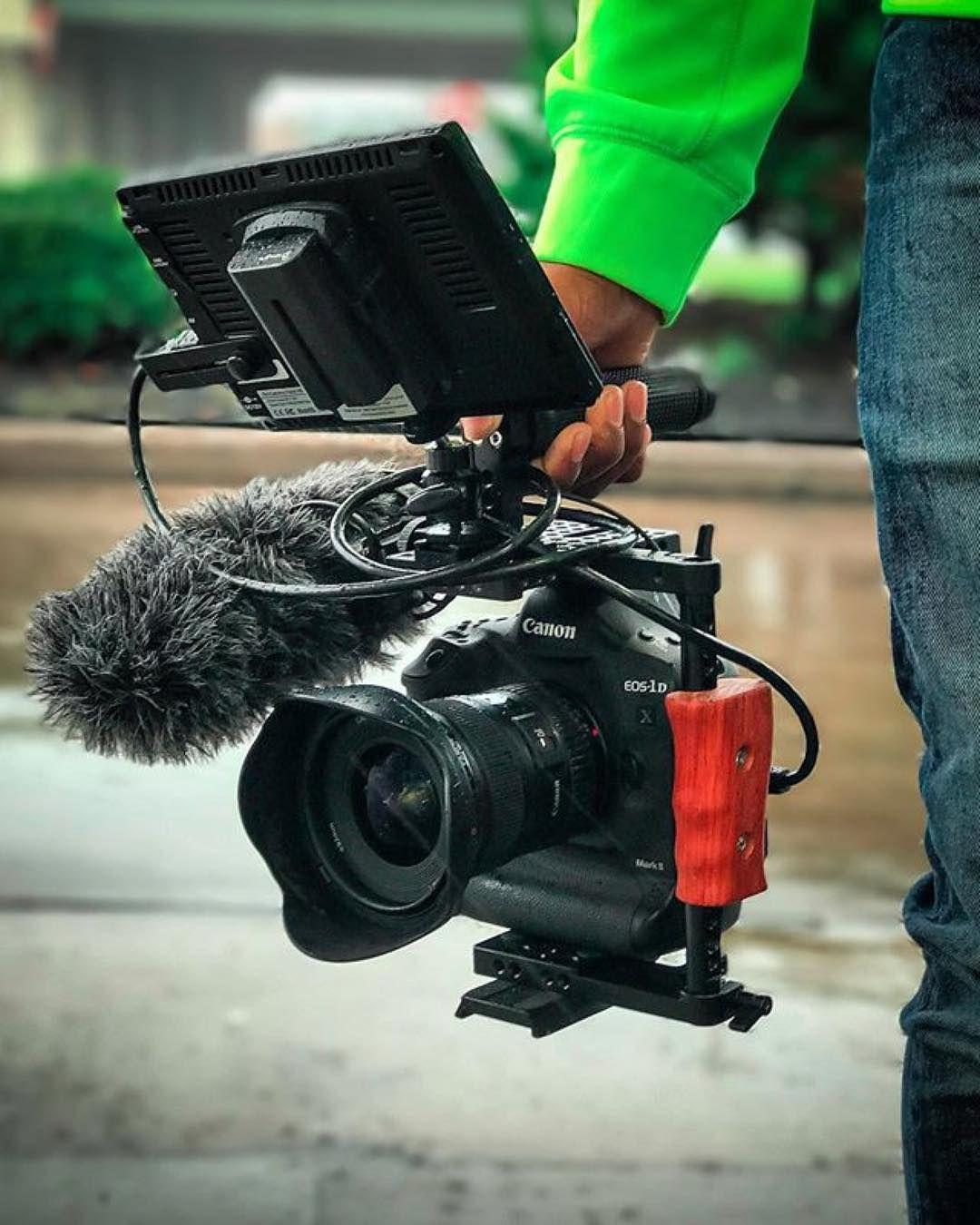 Love This Setup Canon 1dx Mark Ii Photo By Bwashmedia Cinema Camera Camera Gear Bag Filming Setup