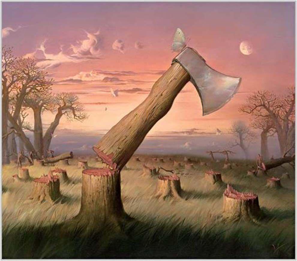 Vladimir kush 990 870 surrealism for Amazing paintings pics
