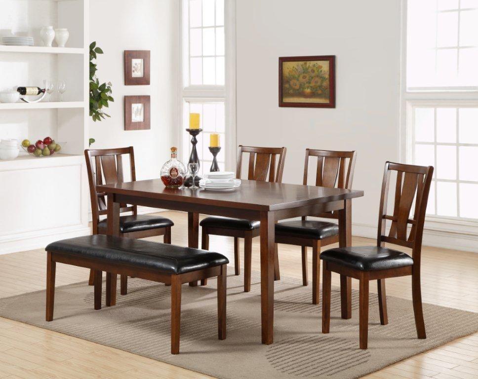 Awe Inspiring Hobo Dixon Standard 6 Piece Dining Set Living Room Solid Creativecarmelina Interior Chair Design Creativecarmelinacom