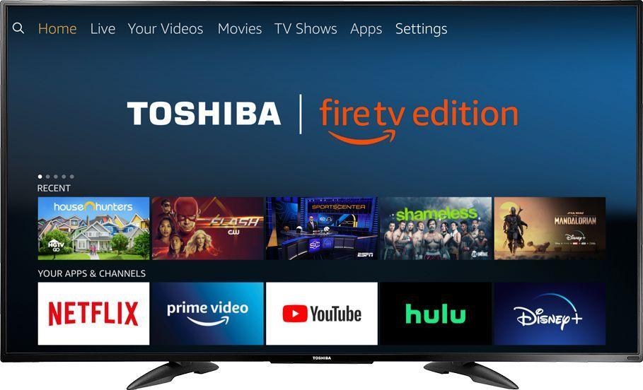 Toshiba 55 Class Led 4k Uhd Smart Firetv Edition Tv 55lf711u20 Best Buy Led Tv Fire Tv Toshiba