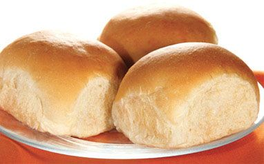Traditional White Dinner Rolls Rhodes Bake N Serv Hamburger