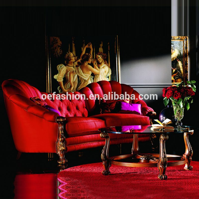 Red Couch Velvet Sofas Living Room Furniture Upholstered Classic Comfortable American Style Home Fabric Sofa Design Set View Antique Sofa Set Designs Oe Fashi Fabric Sofa Design Velvet Sofa Living Room Sofa