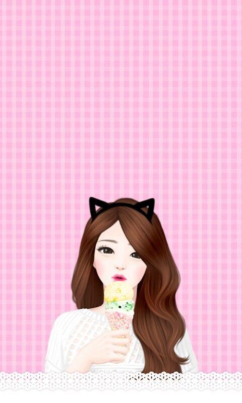 Korean Illustration, Illustration Girl, Cute Anime Wallpaper, Lovely Girl Image, Korean Anime