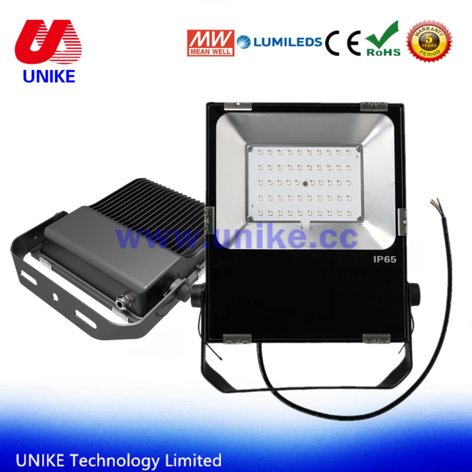 UNK-FL50A 5 year warranty high efficiency 50w LED Spot Flood Wash Light