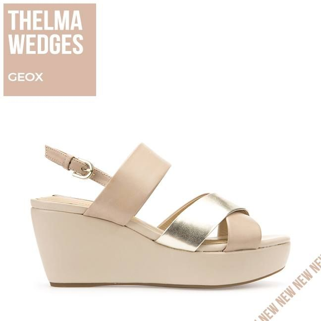e645a75ef51 For Comfort & Luxury, Thelma Wedges GEOX!! | Sagiakos Woman Arrivals ...