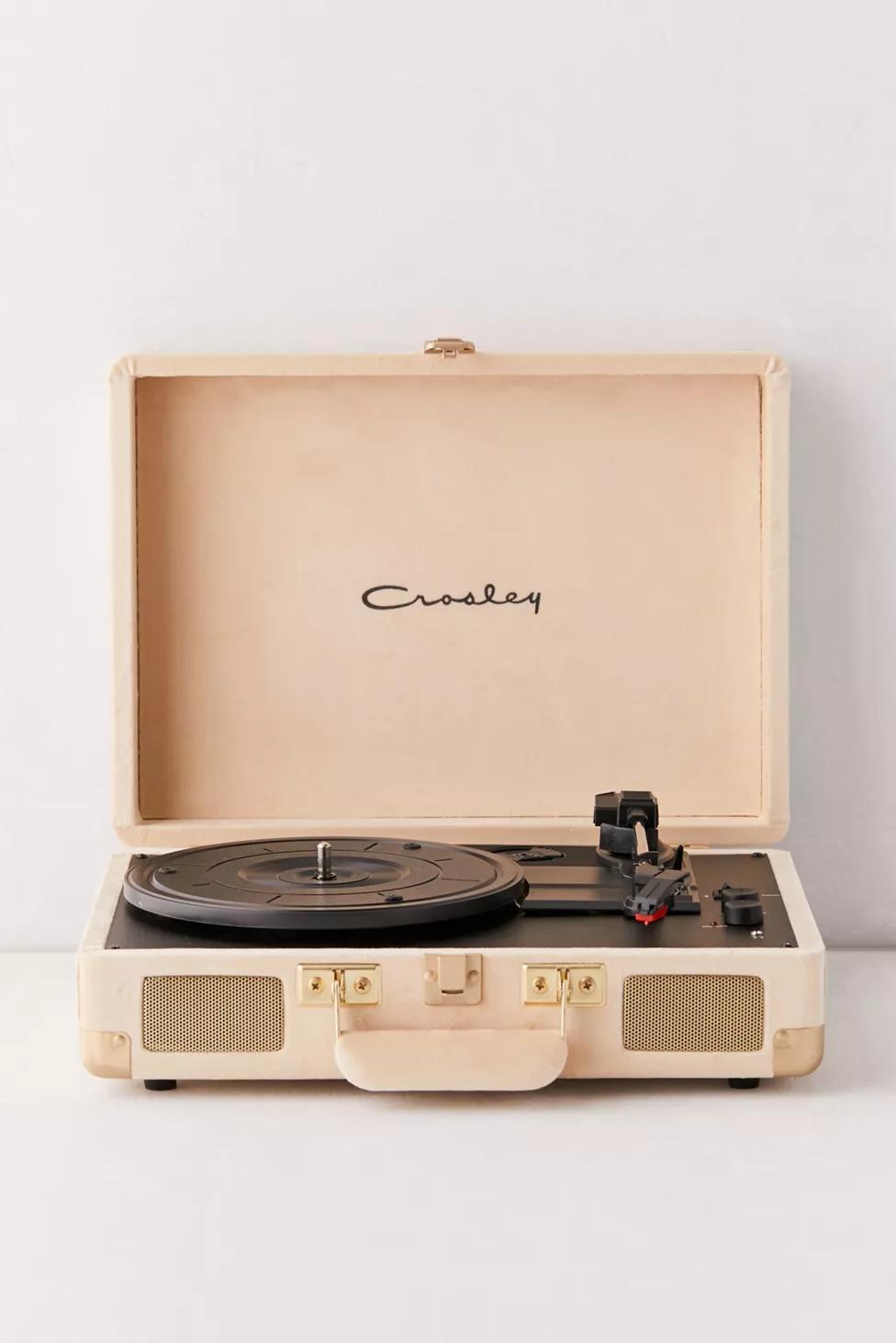 Crosley Uo Exclusive Sandcastle Cruiser Bluetooth Record Player Bluetooth Record Player Record Player Vinyl Record Player
