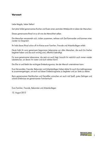 Gemeinsam Kochen Und Geniessen Hochzeitskochbuch Kochbuch Kochen