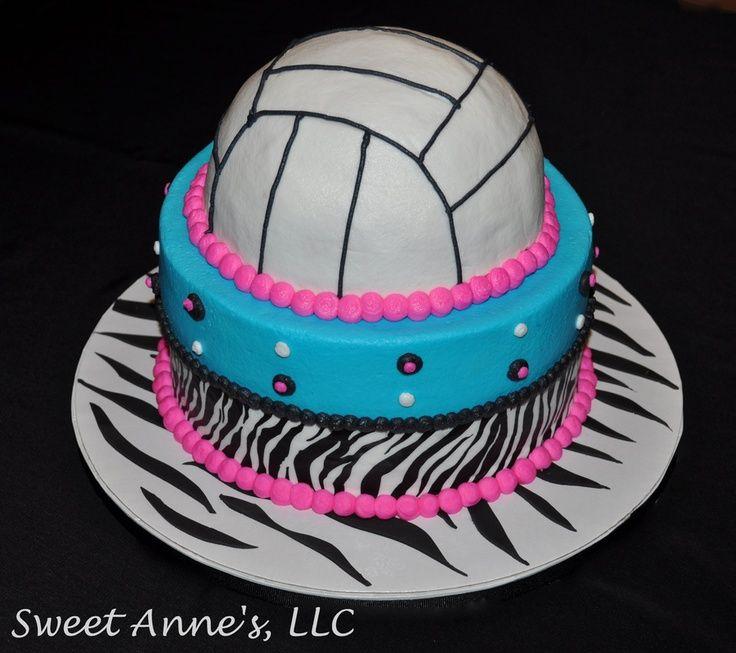 Volleyball Birthday Cake Volleyball Pinterest Volleyball
