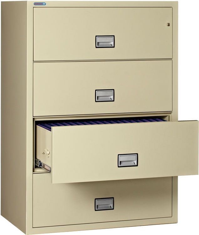 Beau 4 Drawer Lateral Filing Cabinet