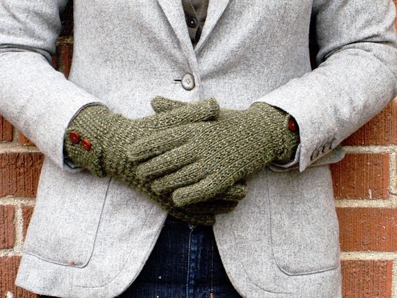 Together, you can knit these gloves. | 7 Things You Can Knit With Ryan Gosling