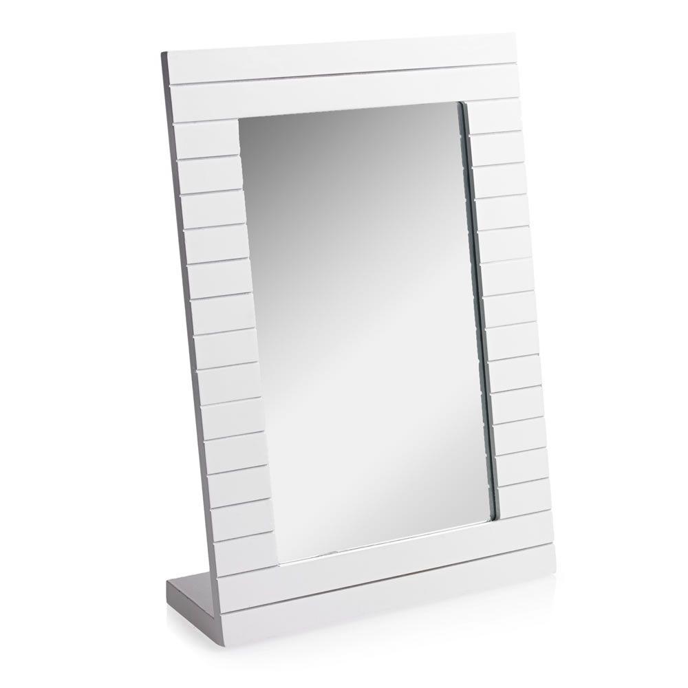 Wilko Freestanding Mirror Wooden | Nautical bathroom decor ideas ...