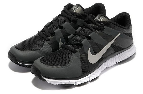 2014 Latest Nike Free Trainer 5.0 Mens Black Silver