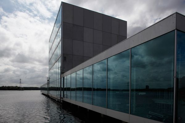 Sanaa Architekten Homepage city theatre and centre de kunstlinie almere nl architects