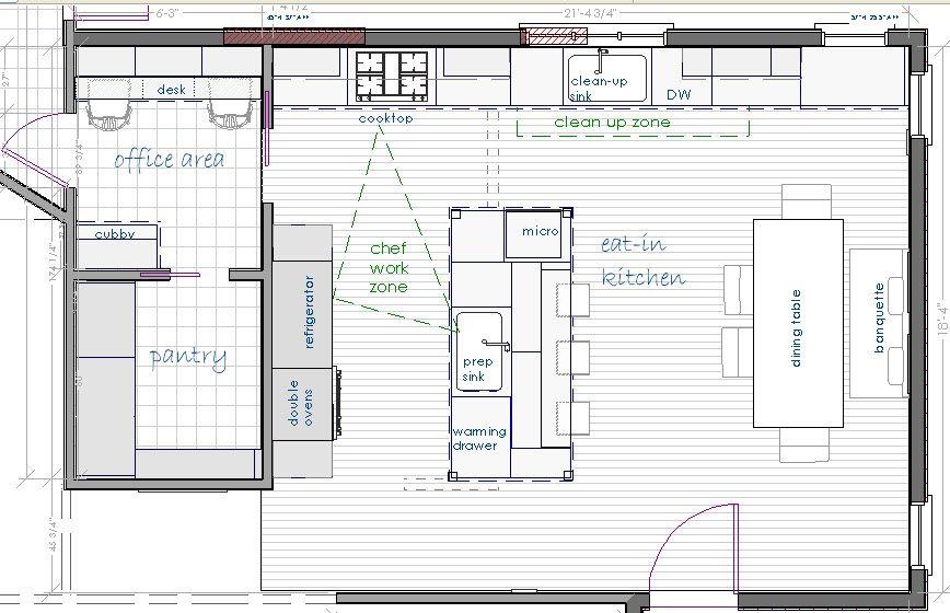 Kitchen Plans Kitchen Floor Plans Pantry Layout Floor Plans