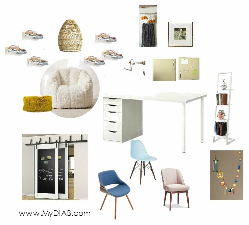 Decorator In A Box New Before & After  California Dreamy Teen Bedroom  Decorator In A 2018